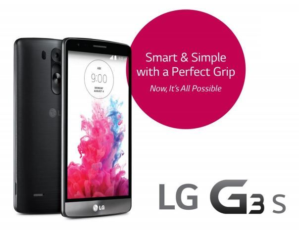 Competition to Win New LG G3 S Smartphone Handset