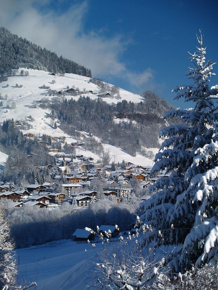 Praz-sur-Arly - Haute-Savoie - France - Vue de la station - Mur d'images | Praz sur Arly
