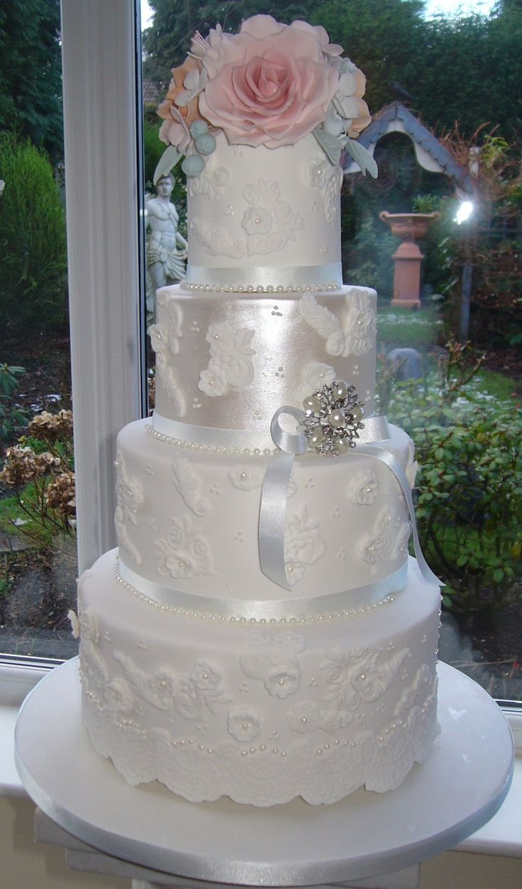 4 tier wedding cake with sugar flowers 85 best wedding cakes by barbara images on 10425