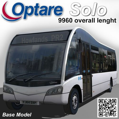 Optare Solo Bus 9960 Lenght