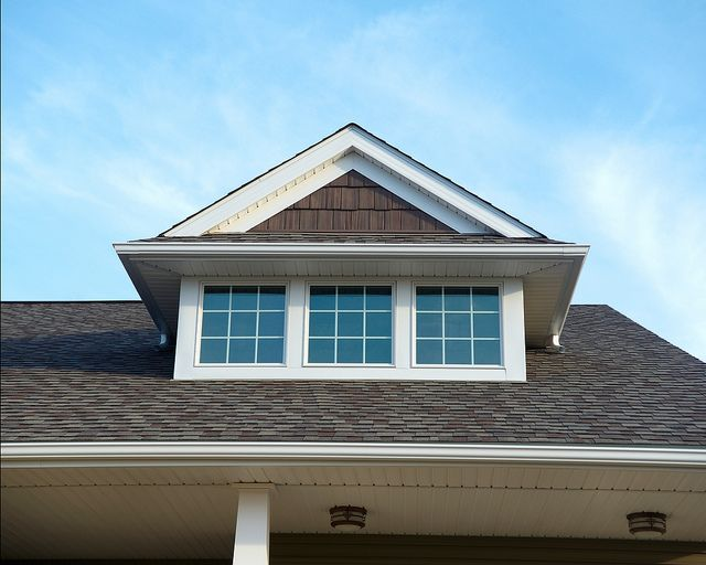 Craftsman Style Windows on dormer...our house would rock this dormer...