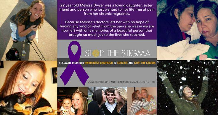 Campagna Stop the Stigma.   Giugno 2014 è il mese per la presa di consapevolezza pubblica delle disabilità derivanti dalle cefalee primarie di tipo cronico.