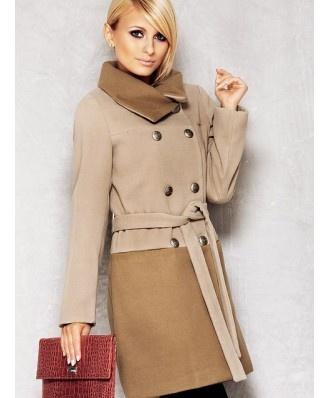 Płaszcz Model M011 Beige - Moda damska - 2012 - TrendCity.pl