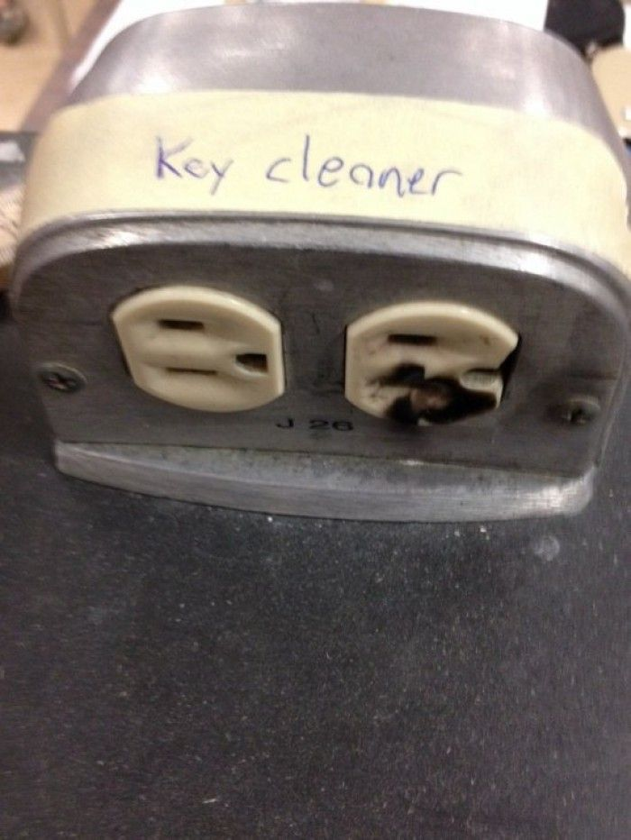Key Cleaner? Is this the evilest joke ever?   #evil #prank