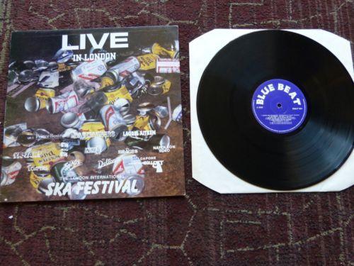 Live-in-London-International-Ska-Festival-12-034-LP-Album-Vinyl-1989-VG-BBSLP001