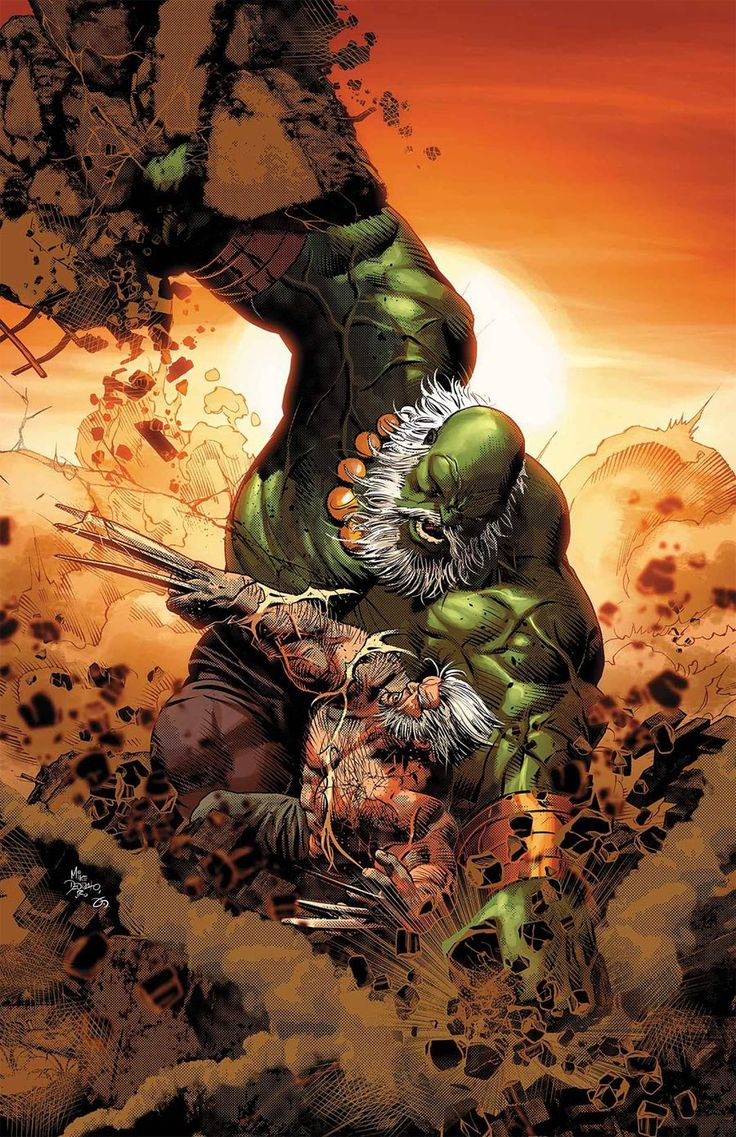 Old Man Logan Vol 2 #25 Cover A Regular Mike Deodato Jr Cover