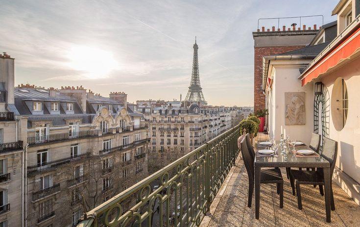6 Paris Perfect Stays With Seductive Eiffel Tower Views Apartment View Paris Paris Vacation Rentals