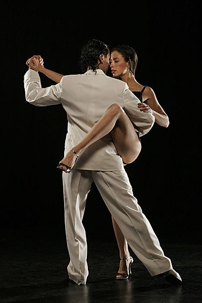 Gustavo and Gisela as Masters of Argentine Tango
