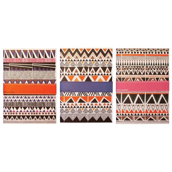Geometric: Geometric Patterns, Gifts Ideas, Sanna Annukka, Navajo Inspiration Notebooks, Art Prints, Notebooks Sets, Notebooks Navajo New, Annukka Notebooks, Navajo Notebooks