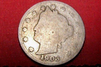 value of old coins 1903 1911 | 1903 LIBERTY HEAD NICKEL COIN ( 108 YEARS OLD ) Completed