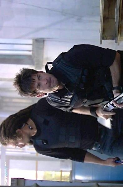 Joe Flanagan and Jason Momoa | Stargate Atlantis