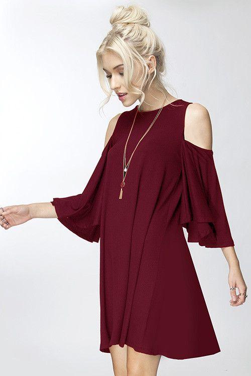 Copeland Cold Shoulder Dress