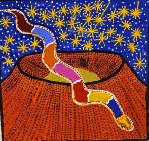 Kandimalal And The Rainbow Serpent - Boxer Milner