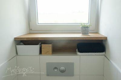 parapet - polička / window sill - shelf