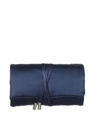 46% OFF Kumi Kokoon Small Silk Jewelry Roll, Indigo, 6