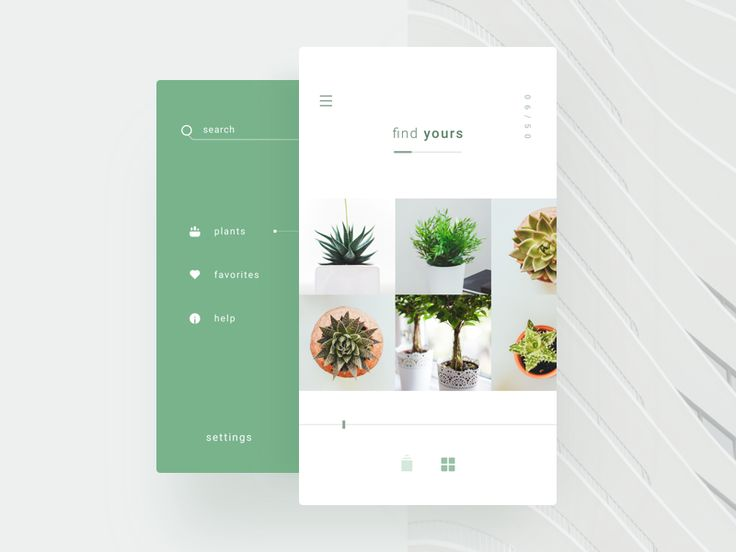 Find Plants UI by William Jansson
