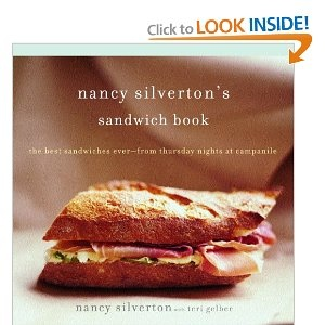Gah! Nancy Silverton's Sandwich Book looks great. I like taking something like a sandwich and elevating it to something special. I'd love to see what interesting combinations Nancy has come up with.
