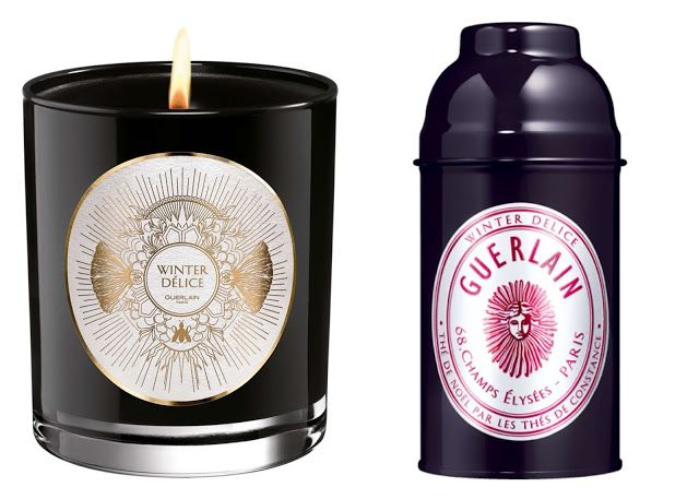 Guerlain Winter Delice Scented Candle and Tea