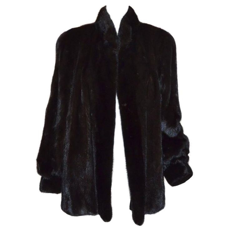 Revillon Brown Mink Coat | From a collection of rare vintage coats and outerwear at https://www.1stdibs.com/fashion/clothing/coats-outerwear/