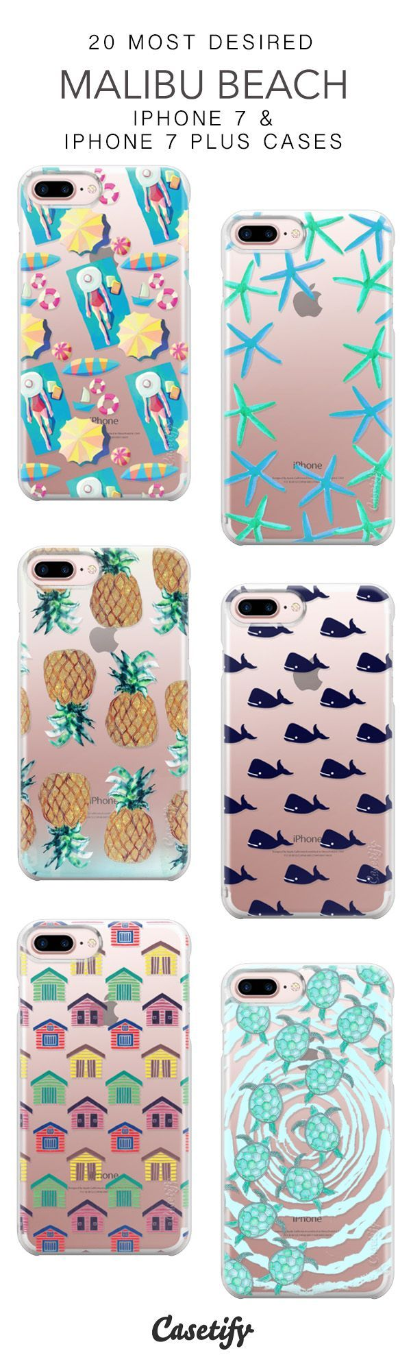 20 Most Desired Malibu Beach Protective iPhone 7 Cases and iPhone 7 Plus Cases. More California iPhone case here > https://www.casetify.com/collections/top_100_designs#/?vc=yhOfZ9OHGn #iphone7plus,