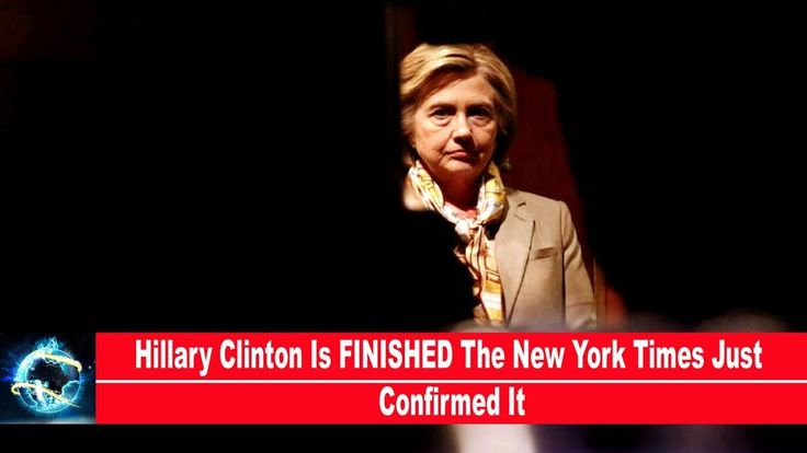 Hillary Clinton Is FINISHED The New York Times Just Confirmed It(VIDEO)!!!