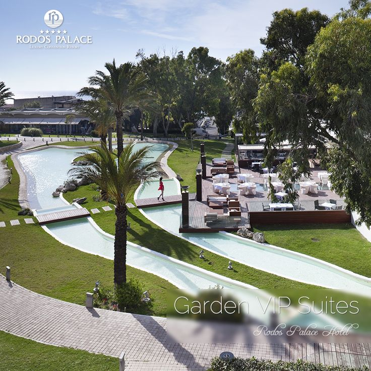 View From Garden VIP Suites - Rodos Palace Hotel! #rodospalace #hotel #garden #view