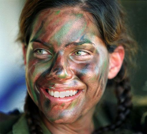 How To Make Natural Camo Face Paint