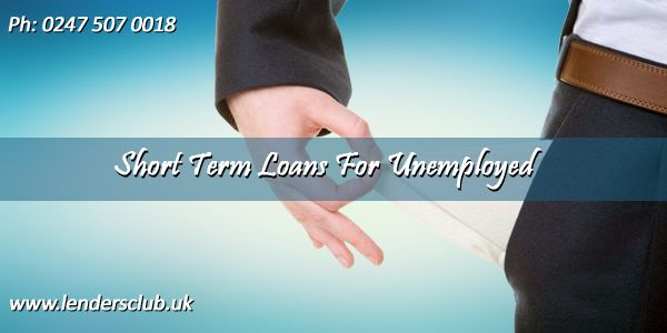 Short term loans for the unemployed are meant for those who are without any job.  The loans play a crucial role to improve the financial situation.