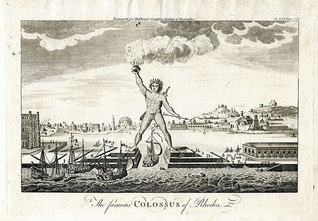 When and how the #Colossus of #Rhodes was build? Learn its history here: