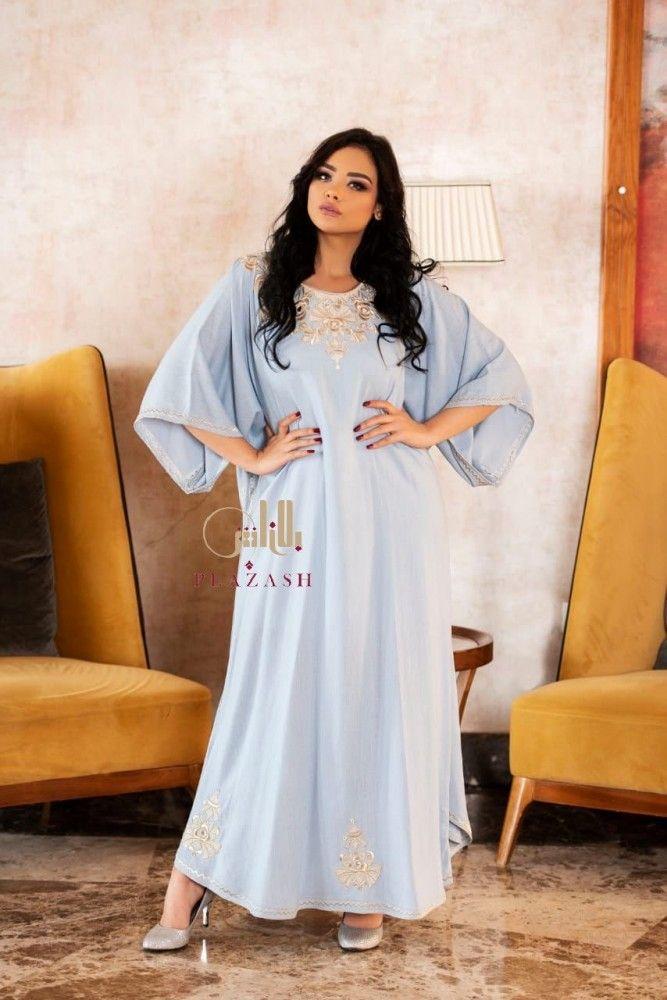 جلابيه كويتي Fashion Cold Shoulder Dress Womens Fashion