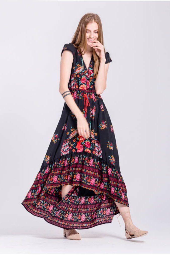 Sylvia Maxi Dress FREE WORLDWIDE SHIPPING @stylelimits1