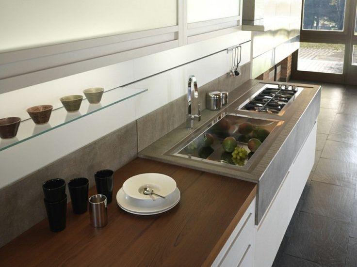 923 best images about cuisines on pinterest un deco and for Plan de travail pour cuisine blanche
