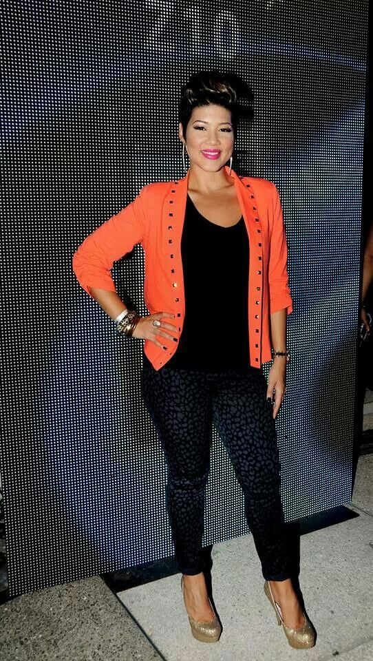 Tessanne Chin, rep JA. Such a great woman, love her hair too