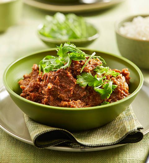 Beef rendang: The caramelised coconut cream flavour of this famous Malaysian dish enriches and defines it. Tuck in!
