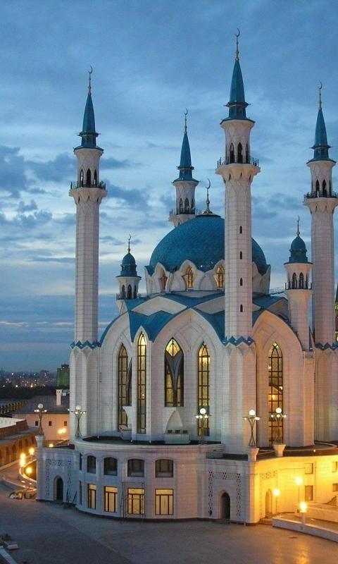 Qolsharif Mosque, Kazan Kremlin, Kazan, Russia. Doesn't seem like a bad vacation destination روسيا