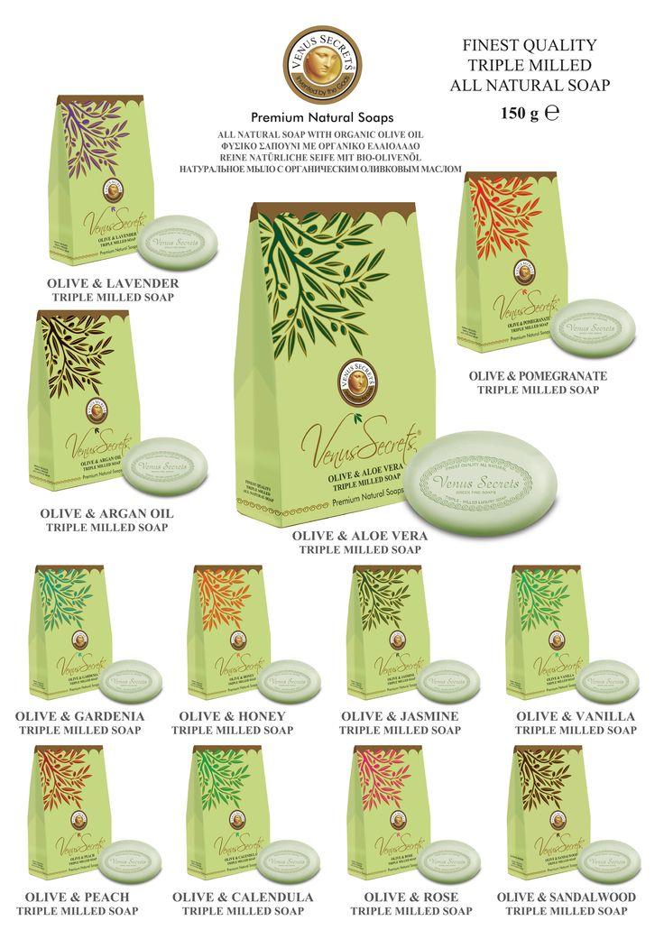 Gift Box olive Oil Soap 150gr _________Code: 520786-797
