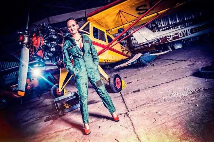 Sky Camp Dropzone, Poland  model: Michalina Szcześniak fot. KonwentPhotography