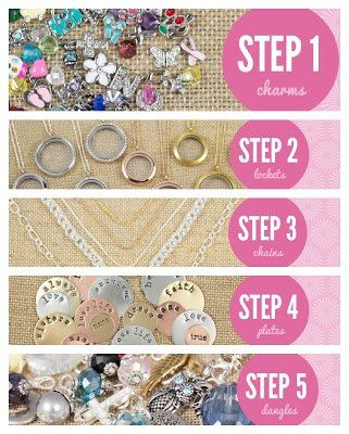 How to design your Origami Owl locket. Contact me for info on how to create your own.