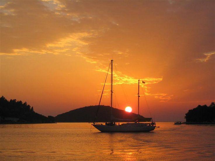 Vela Luka - Breath taking sunsets