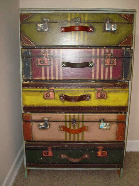 50 Best Suitcase Chest Of Drawers Images On Pinterest
