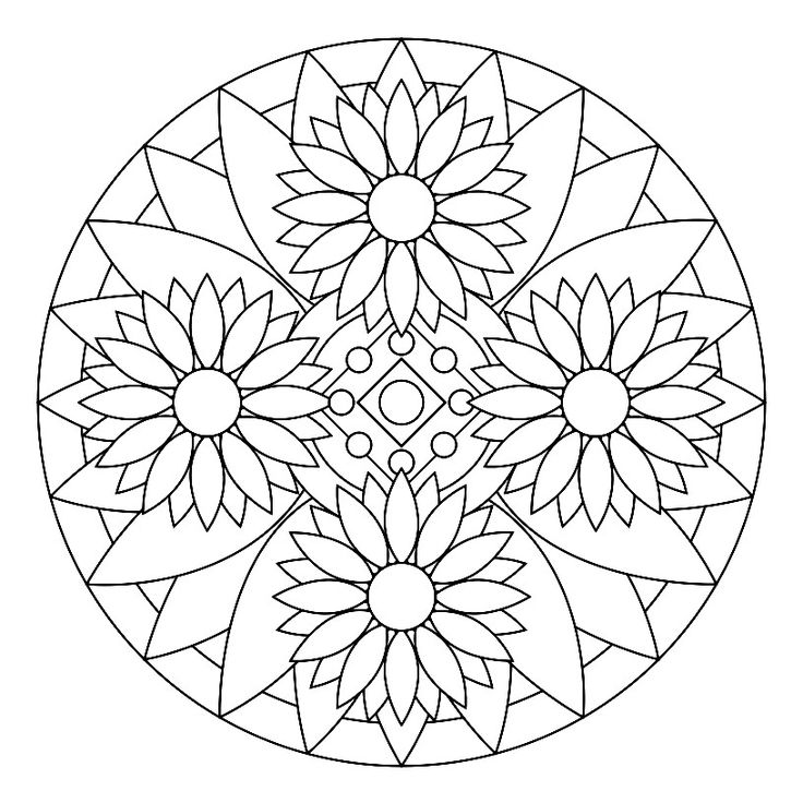 select your favorite mandala drawing and expose your inner artist by coloring image with creativitycolor others life by coloring as an inspirational image - Art Therapy Coloring Pages Mandala