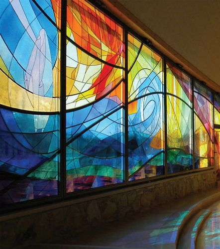 Colored Glass Wall Decor : Best spectacular stained glass images on