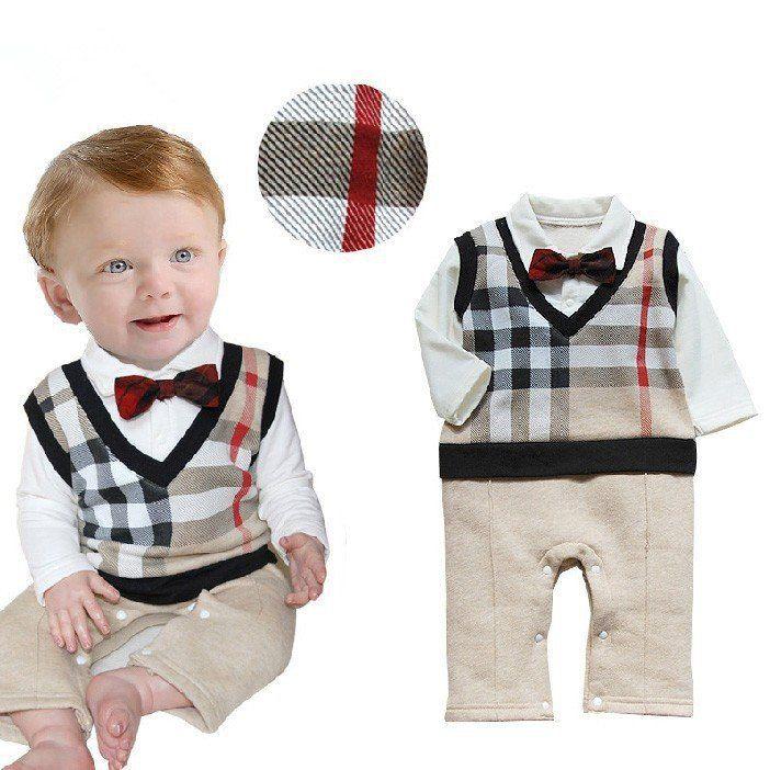 Retail 2017 100%cotton baby boy roupas de bebe Critical gentleman bow long sleeve baby boy clothes