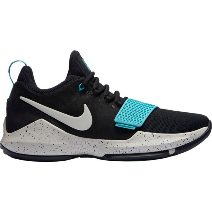 Nike Men's PG 1 Basketball Shoes, Black