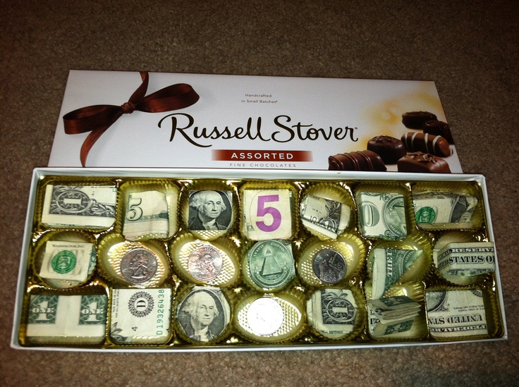 Plus you get to eat all the chocolates so the money will fit. & 38 best money box images on Pinterest | Money box Money origami ... Aboutintivar.Com