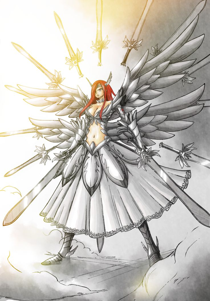 Day 4: favorite female character- Erza Scarlet, Fairy Tail. I was just singing the theme song for the 1st episode.