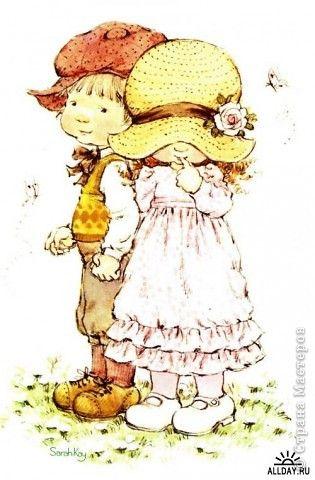 Картина, панно Квиллинг, Торцевание: Первая любовь Бумага, Бумага гофрированная Валентинов день. Фото 11