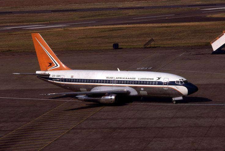 South African Airways Boeing 737-244