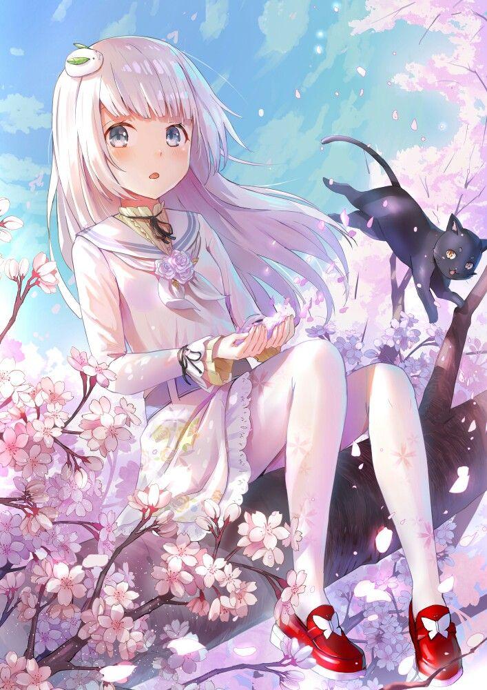 Kawai anime girl