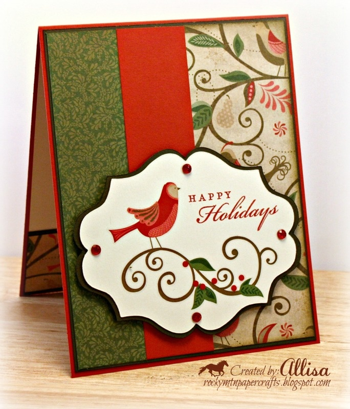 Paper Craft Christmas Card Ideas Part - 27: Find This Pin And More On Christmas Card Ideas.